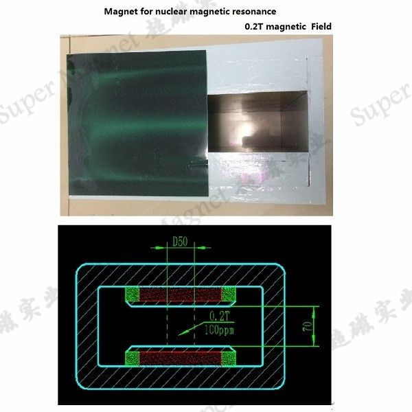 0.2T NMR magnets nuclear magnetic resonance MRI magnets