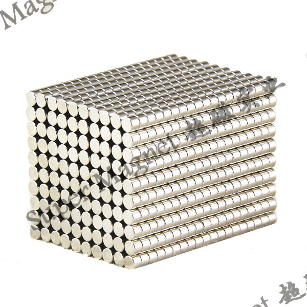ND6*4mm Sintered NdFeB magnets Grade N35