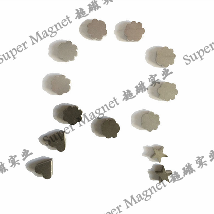 NH11 Sintered NdFeB magnets  star /flower/ sweat-heart shape