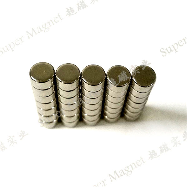 ND5*3mm Sintered NdFeB disc magnets Grade N35