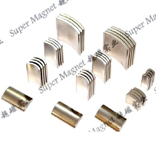 motor segment NdFeB magnet